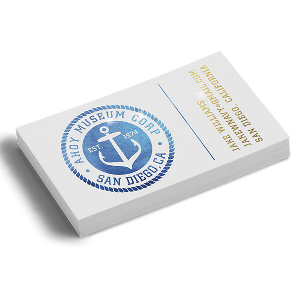 Foiled Business Cards Printing Services West Palm Beach Dade
